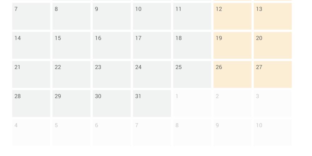 eAssist Calendar