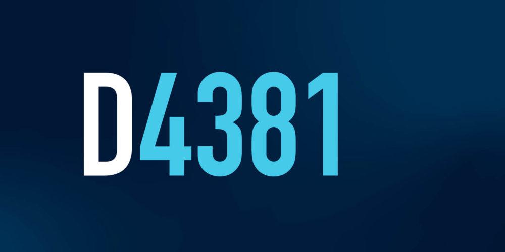 142 D4381 CodeTip