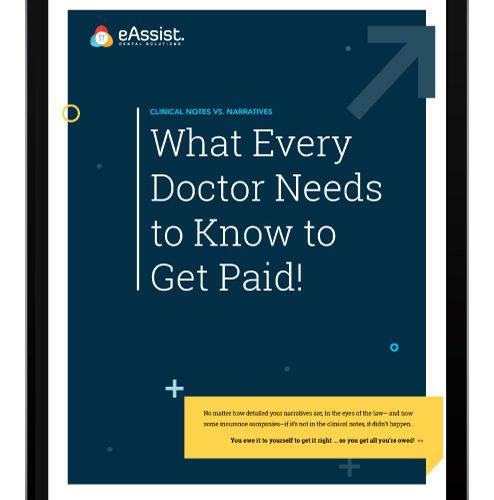 eAssist Doctor Get Paid eBook Digital cover