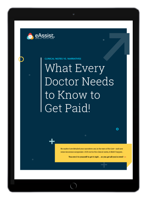 eAssist Doctor Get Paid eBook Digital cover